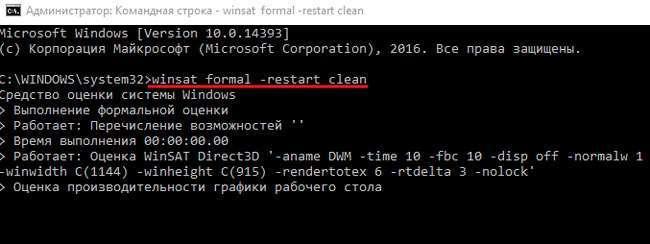 Індекс продуктивності Windows 10