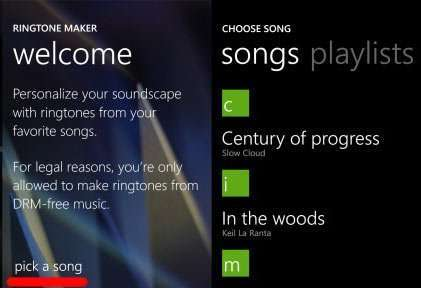 Як змінити мелодію дзвінка в Windows 10 Mobile, поставивши на виклик свій трек