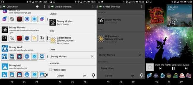 Як змінити значки додатків в Android