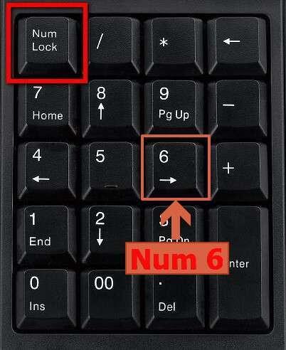Управління курсором миші з клавіатури
